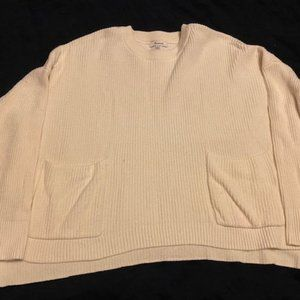 Madewell sweater with pockets